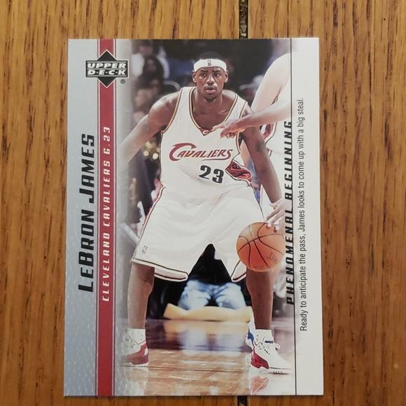 LeBron James Cleveland cavaliers basketball card